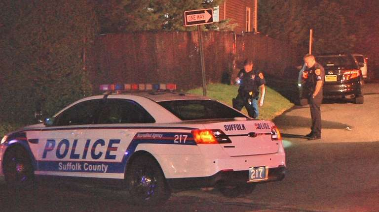 Suffolk County police are investigating the shooting of