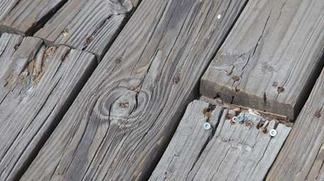 The dock at Fire Island Pines, Aug. 8,