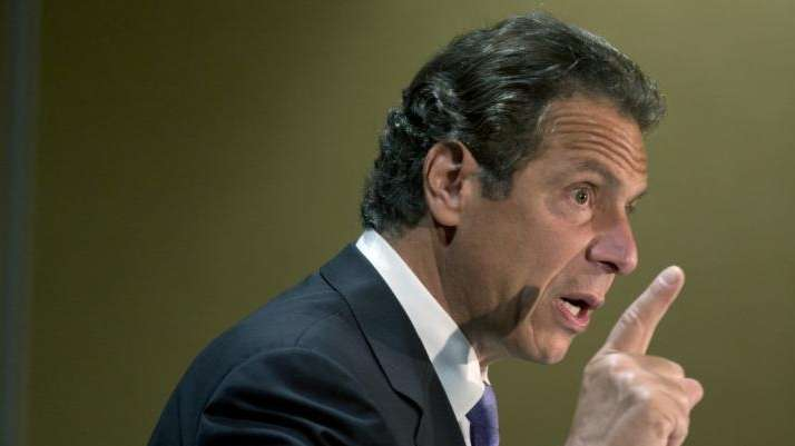 Gov. Andrew M. Cuomo at the New York