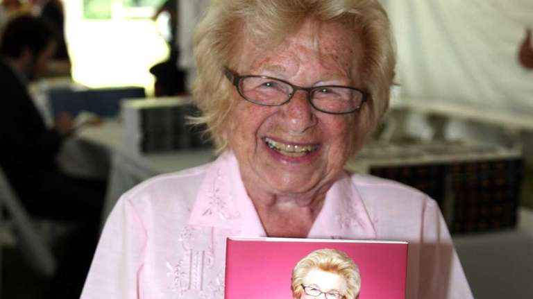 Ruth Westheimer attends the East Hampton Library's 11th