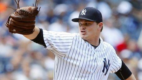 Justin Wilson #41 of the New York Yankees