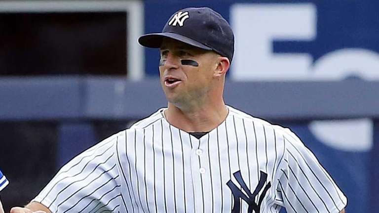 Brett Gardner #11 of the New York Yankees