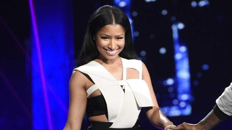 Nicki Minaj and Meek Mill perform at the