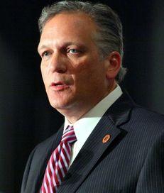 Nassau County Executive Edward Mangano on Oct. 29,