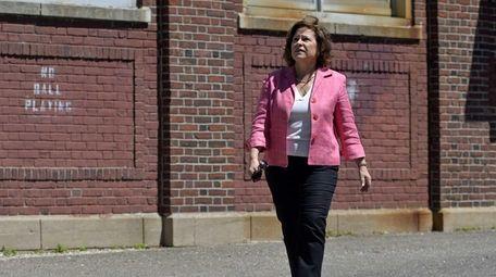 Glen Cove Deputy Mayor Barbara Peebles seen in