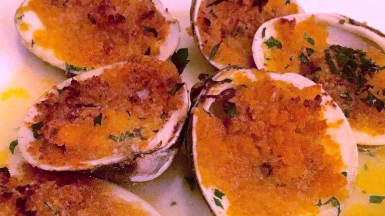 Baked clams at Taormina Ristorante & Pizzeria in
