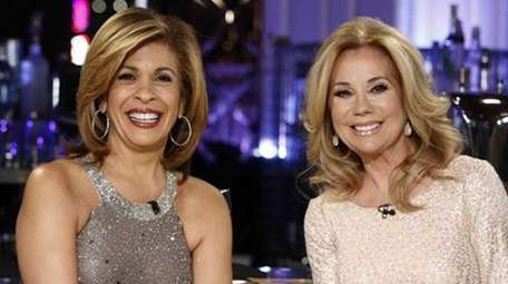 Hoda Kotb (left) got emotional on