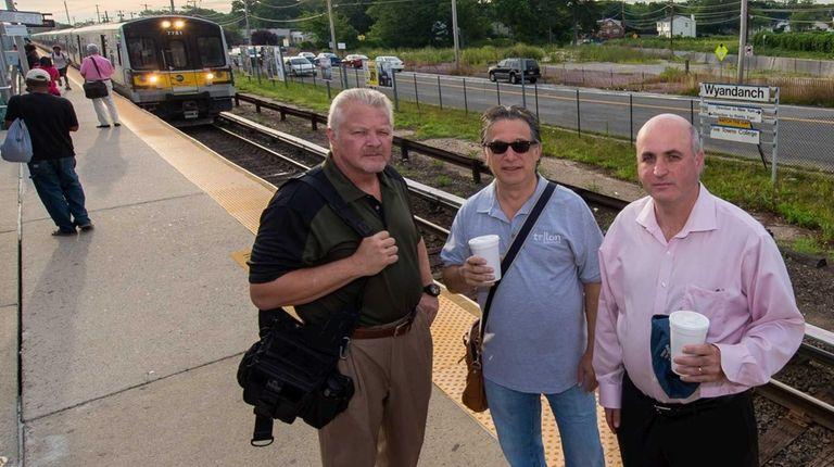 From left to right: Edward Baker, Mark Strickler