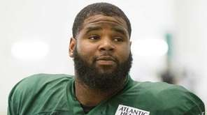 New York Jets defensive endd Sheldon Richardson and