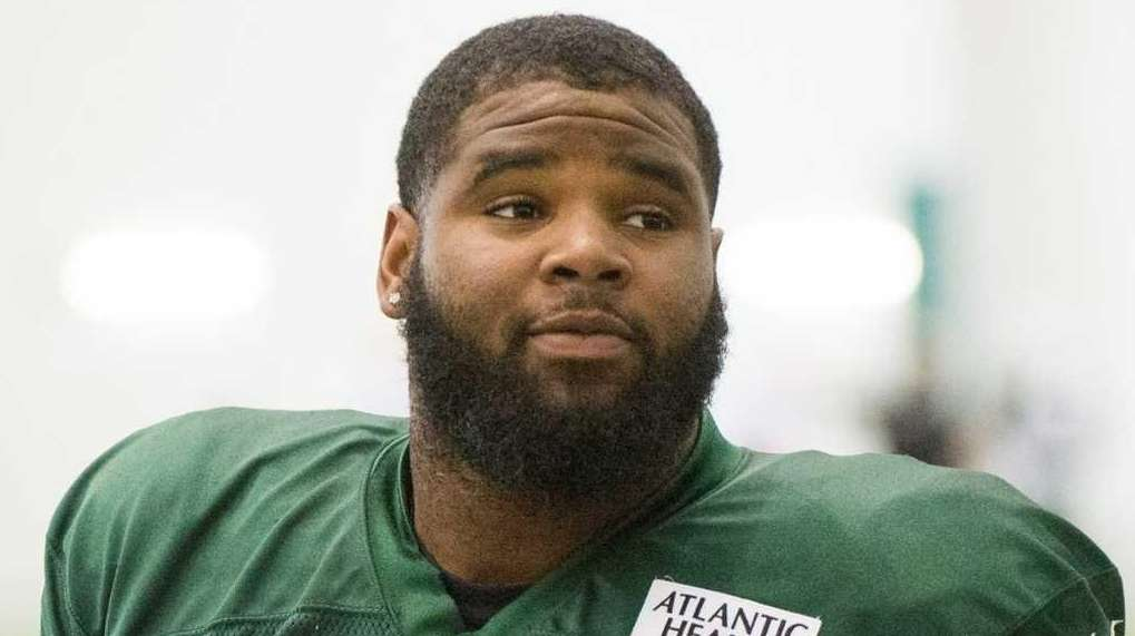 New York Jets defensive end Sheldon Richardson and