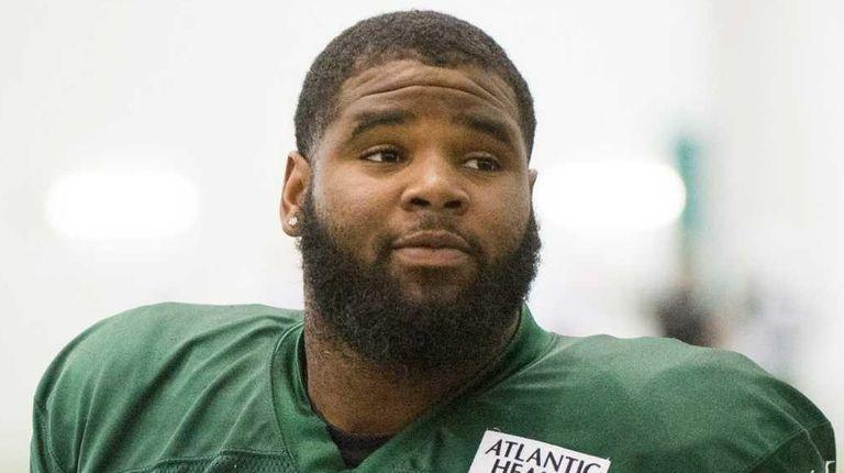New York Jets defensive end Sheldon Richardson and