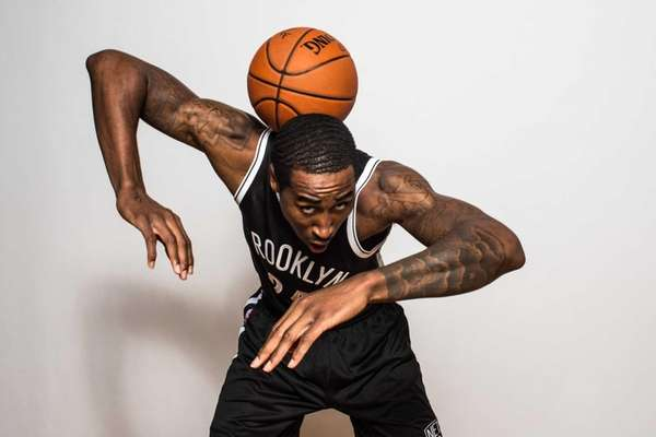 Rondae Hollis-Jefferson of the Brooklyn Nets poses for