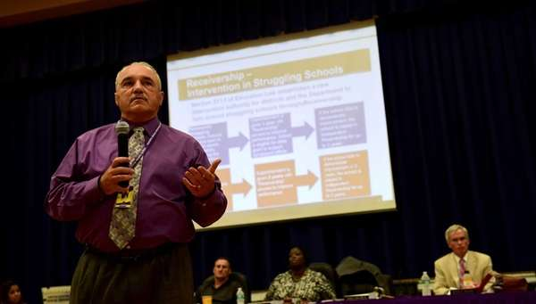 Central Islip Superintendent of Schools Craig G. Carr