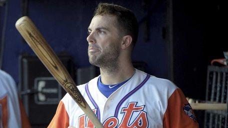 New York Mets third baseman David Wright prepares