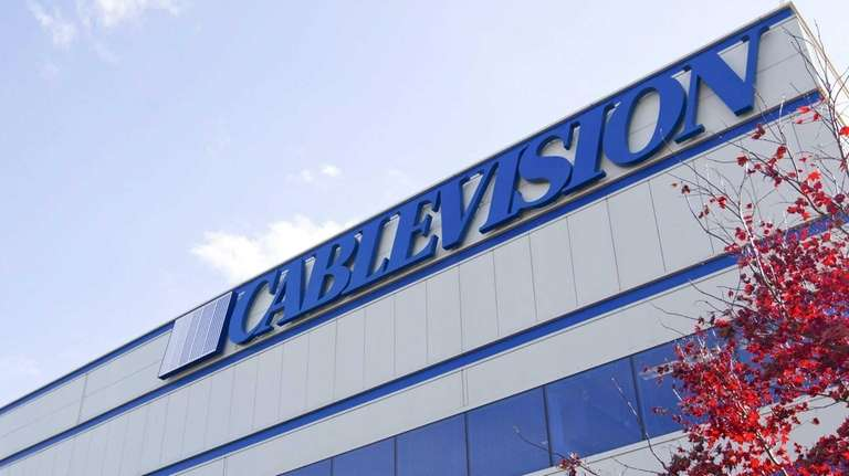 The Cablevision Systems Corp. headquarters in Bethpage on