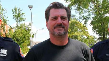 Joel Grasman, 51, a veteran NYC Transit worker,