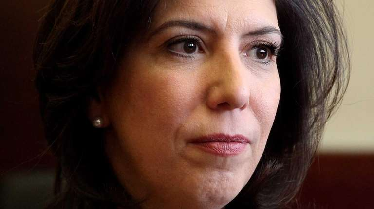 Nassau County Acting District Attorney Madeline Singas is