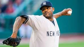 Starter CC Sabathia of the New York Yankees