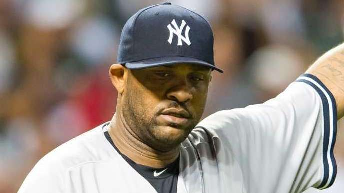 Starting pitcher CC Sabathia of the New York