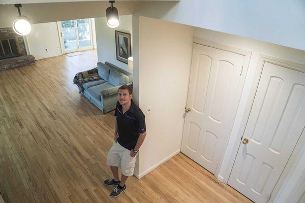 Ian Busching has his house in Glen Head