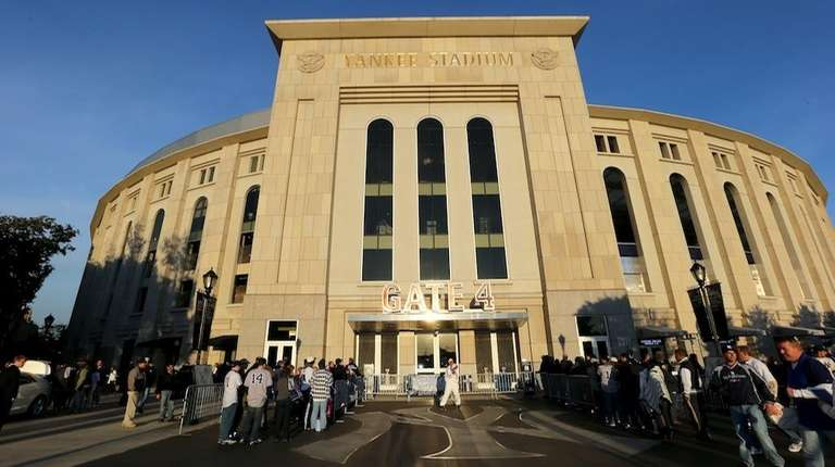A general exterior view of the stadium is