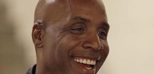 Former San Francisco Giants player Barry Bonds smiles