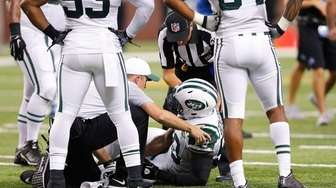 Erin Henderson of the New York Jets is