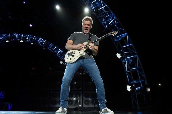 Eddie Van Halen of Van Halen takes the