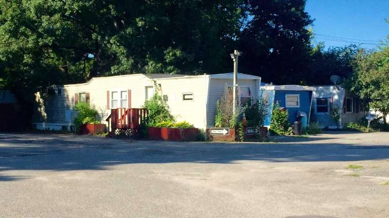 A view of the Syosset Mobile Home Park
