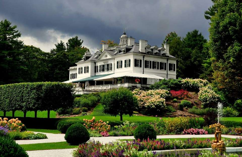 The Berkshires (Lenox, Massachusetts, is about 140 miles