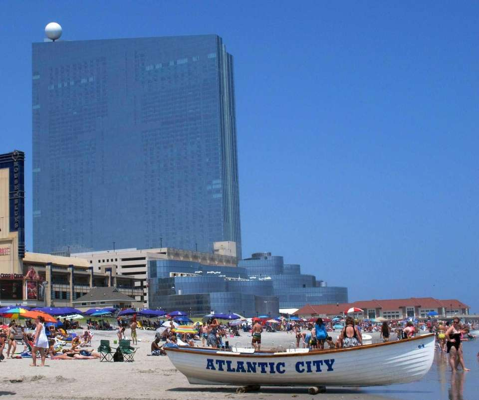 Atlantic City, New Jersey (about 125 miles from