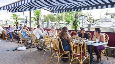 You can opt for outdoor seating with views