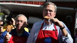 Republican presidential hopeful and former Florida Gov. Jeb