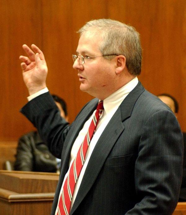GOP Counsel John Ryan, seen in 2005, responding