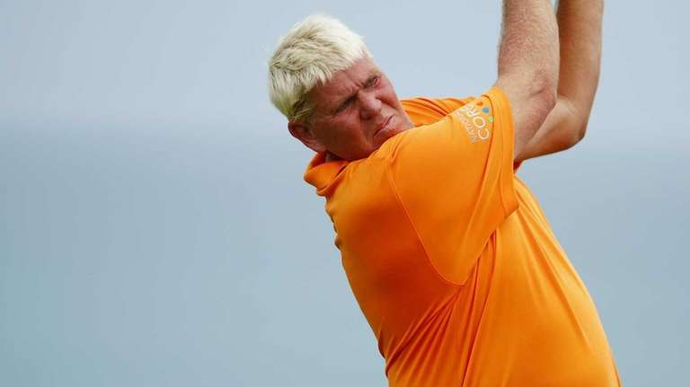 John Daly of the United States plays his