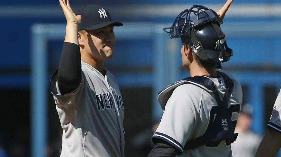 Masahiro Tanaka of the New York Yankees is