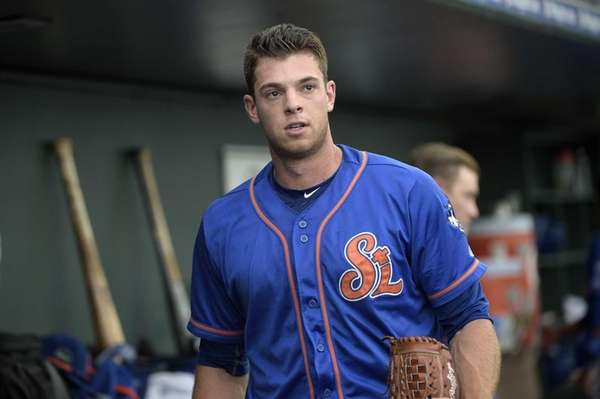 New York Mets pitcher Steven Matz walks through