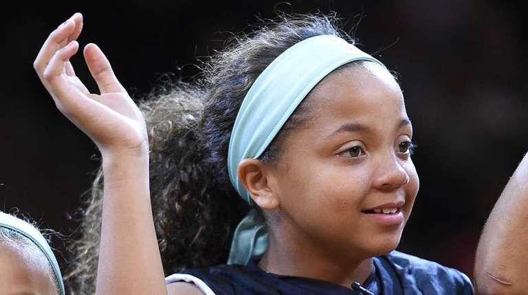 Kymora Johnson of the Charlottesville Cavaliers is honored