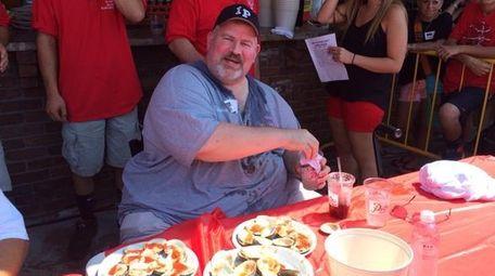 Pete Adams, a 33-year veteran firefighter of the