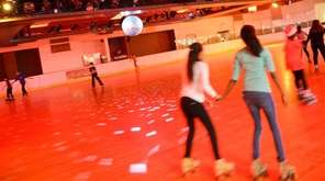 You've skated underneath the big disco ball at