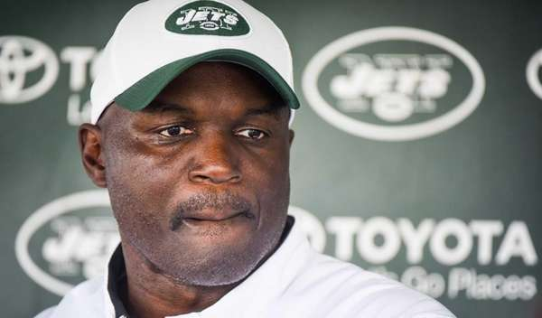 New York Jets head coach Todd Bowles during