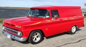 This 1963 GMC Suburban Carryall owned by Bob