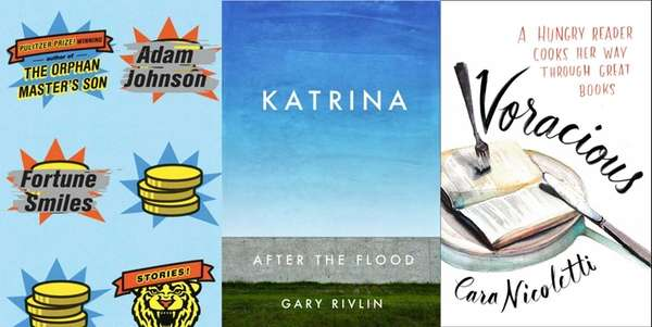 New August releases by Adam Johnson, Gary Rivlin