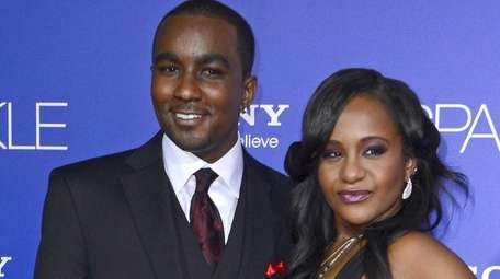 Bobbi Kristina Brown and Nick Gordon arriving for