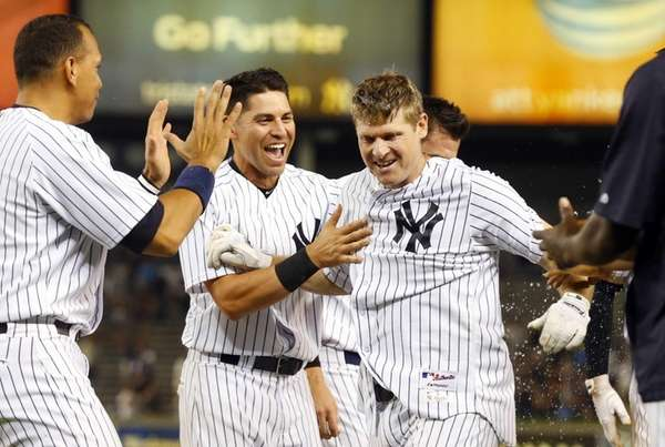 Chase Headley #12 of the New York Yankees