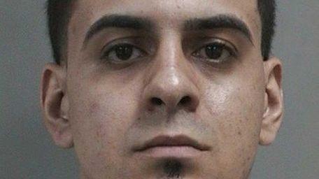 Rafael Sanchez, 24, of Plainview, was arrested Monday,