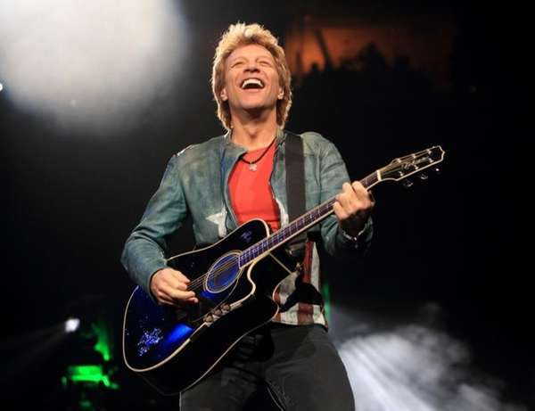 Jon Bon Jovi was among the performers at