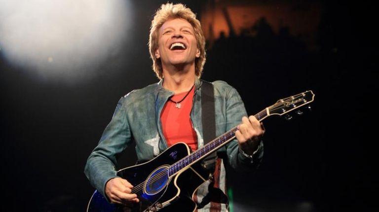 Jon Bon Jovi was among the performers at