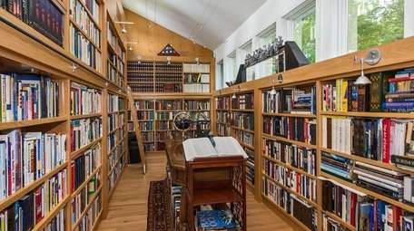 If you want a house with a library,