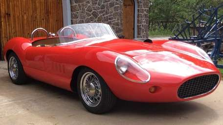 This 1966 Alfa Romeo roadster owned by Jeff